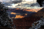 Grand Canyon Snow Window 2