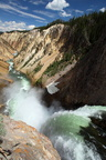 Yellowstone river Upper Falls 2